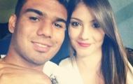 Bạn gái 'xinh rất xinh' của sao trẻ Real Madrid, Casemiro