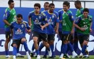 Kaka tích cực tập luyện trong ngày trở lại cùng đội tuyển Brazil
