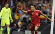 Jordi Alba gia nhập binh đoàn hậu vệ ghi nhiều bàn nhất