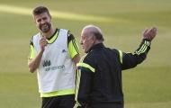 Tiết lộ sốc: Pique từng xin giã từ sự nghiệp ở tuyển Tây Ban Nha