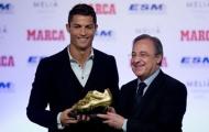 Chủ tịch Real gửi lời tri ân Ronaldo