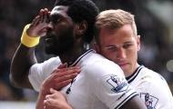 CHÍNH THỨC: Tottenham thải hồi 'kẻ ăn hại' Adebayor