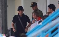 HLV Miura từ chối nhận xét về pha vào bóng của Ngọc Hải