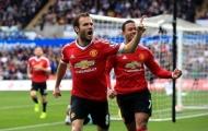 Thống kê: Juan Mata đóng góp vào 44% số bàn thắng của M.U