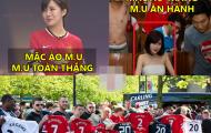"""Ảnh chế: M.U thảm bại vì hot girl Tú Linh, """"cục cưng"""" của CR7 thần tượng Messi"""