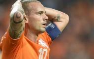"""Sneijder: """"Hà Lan sẽ phải đối mặt với hai trận chung kết"""""""