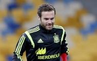 Juan Mata bác tin đồn chia tay Quỷ đỏ