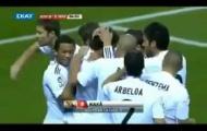 Cú sút xa đẳng cấp tung lưới Atletico Madrid của Kaka