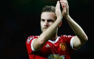 Juan Mata bất ngờ bị Van Gaal loại bỏ