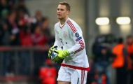 Cựu sao M.U là nguồn cảm hứng của Manuel Neuer