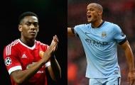 Những cuộc đối đầu đáng chú ý trong trận derby Manchester