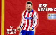 Tài năng đặc biệt của Jose Maria Gimenez (Atletico Madrid)