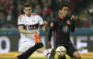 Vòng 11 Bundesliga: 6-3-1 của Frankfurt khiến Bayern Munich nổi đoá