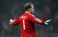 Nghệ thuật chơi bóng bằng chân của Manuel Neuer