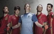 Tây Ban Nha, Đức và Nga trình làng mẫu áo đấu mới cho mùa giải EURO 2016