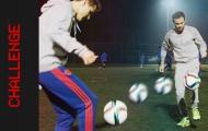 Juan Mata trổ tài tâng 2 bóng cùng Ander Herrera