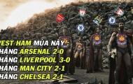 Ảnh chế: BBC = Bye Bye Copa del Rey; Chiến binh West Ham chinh phạt Old Trafford