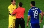 Đá bẩn, Diego Costa khiến Iker Casillas nổi sùng