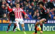 M.U bị Stoke City dẫn 1-0
