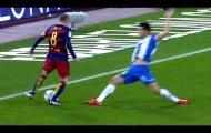 Những pha rê bóng đỉnh cao của Andres Iniesta
