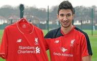'Nhờ sang Liverpool, tôi được rất nhiều cô gái ve vãn'