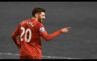 Adam Lallana chơi rất hay trong trận Liverpool 3-0 M.C
