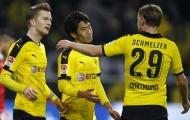 Kagawa tỏa sáng, Dortmund phả hơi nóng vào Bayern