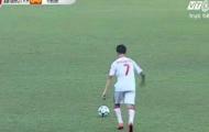 Cầu thủ U19 Viettel tái hiện siêu phẩm sút phạt của Ronaldinho