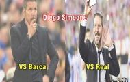 Ảnh chế: Hai thái cực của Simeone; Hai bộ mặt của Chelsea