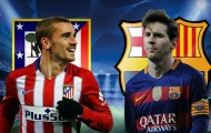 Chấm điểm Atletico Madrid – Barcelona: Messi tệ nhất