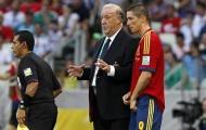 Del Bosque chào đón Torres trở lại đội tuyển Tây Ban Nha