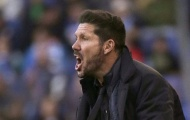 Chính thức: Simeone bị cấm chỉ đạo đến hết mùa