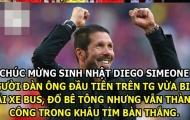 """Ảnh chế: Messi """"nhập hồn"""" Saul; Simeone – thợ lái xe bus, đổ bê tông thành công nhất lịch sử"""