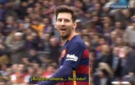 Messi đã trả thù thủ môn Espanyol như thế nào?