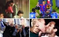 """Những pha ăn mừng vô địch """"độc"""" nhất: Barcelona, Real thi nhau làm gãy Cúp"""