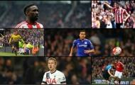 Top 20 cầu thủ tấn công xuất sắc nhất NHA 2015/2016 (Phần 1)
