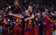 Điểm tin sáng 23/05: Barca đăng quang Cúp Nhà Vua; Giggs trên đường rời Man United