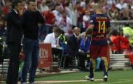 Barcelona ăn mừng, Mascherano làm ngược lại
