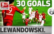 Tất cả 30 bàn thắng của Robert Lewandowski tại Bundesliga 2015/16