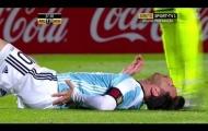 Cận cảnh chấn thương của Lionel Messi trong trận gặp Honduras