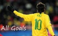 Những màn trình diễn đỉnh cao của Kaka khi khoác áo Brazil