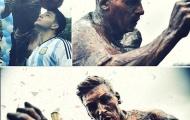 Lionel Messi được tạc tượng tại quê nhà
