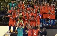 Chile đối đầu nhà vô địch EURO 2016