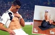 Rảnh rỗi vì 'cô Vy', Ronaldo thách thức toàn mạng xã hội