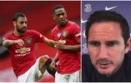 Lampard: 'Man Utd là mối đe dọa lớn nhất đối với Chelsea'
