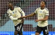 Vì sao Pogba & Martial đều ngồi dự bị trận gặp Chelsea?