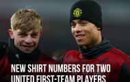 CHÍNH THỨC! Man Utd trao số áo huyền thoại cho Mason Greenwood
