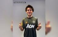XONG! Tân binh 'cực chất' có lần đầu khoác áo Man Utd