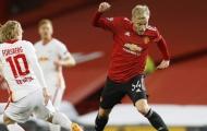 Vì sao Fernandes, Rashford dự bị; Van de Beek, Pogba ra sân từ đầu trận thắng Leipzig?