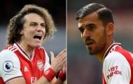 Arsenal dậy sóng: Luiz đấm Ceballos chảy máu mũi, ngã sõng soài